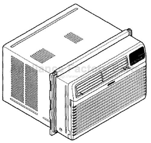 kenmore 580 71056100 model air conditioner instruction manual